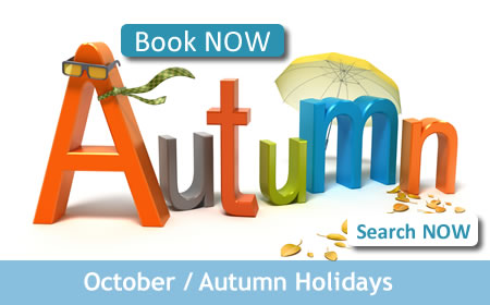 Book Your October Holiday