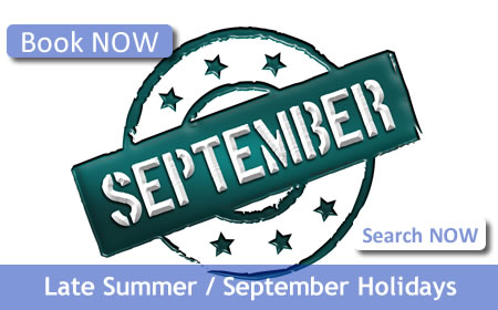 Book Your September Holiday